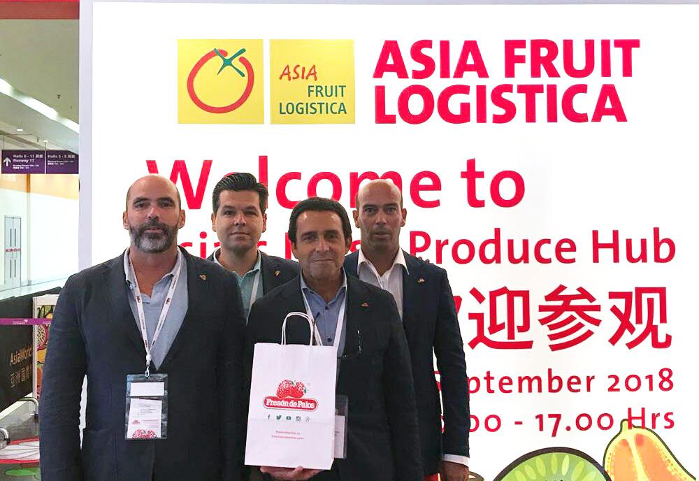 freson de palos en Asia-Fruit-Logistica
