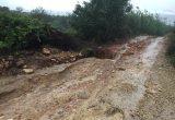 Camino Alcalà de Xivert lluvias
