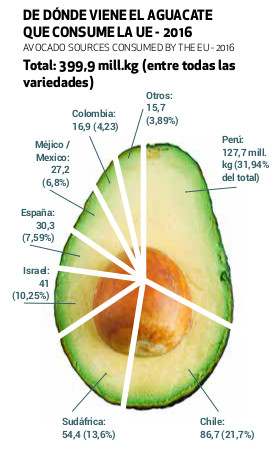 aguacate gráfica