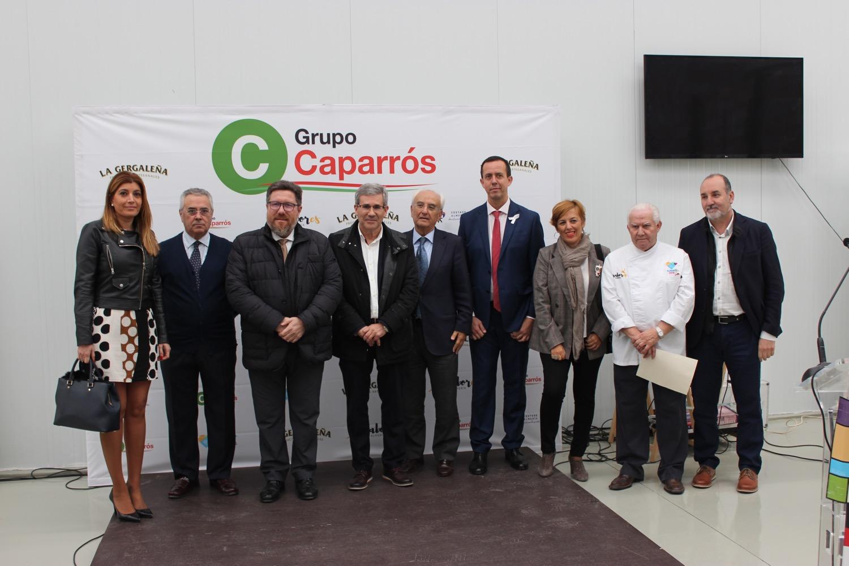 El consejero Sánchez Haro visita la Gergaleña Grupo Caparrós