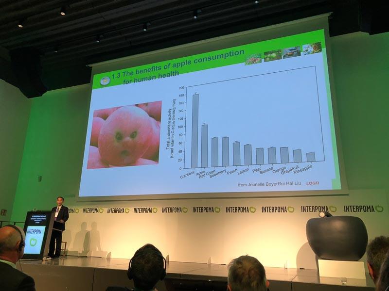 INTERPOMA 2018 - Conferencia la manzana en el mundo