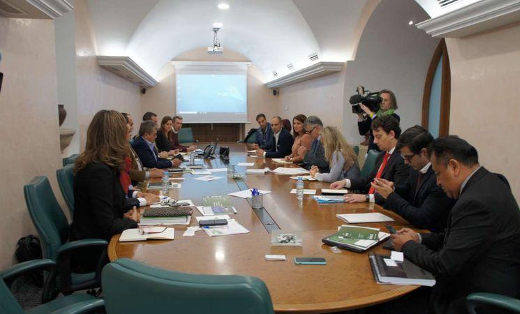 visita delegación mexicana a extremadura afruex