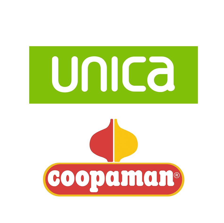 Unica-Coopaman logos