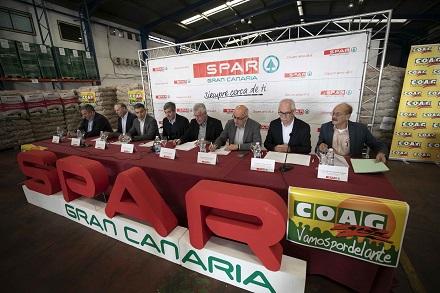 firma convenio papa representantes spar instituciones y agricultores