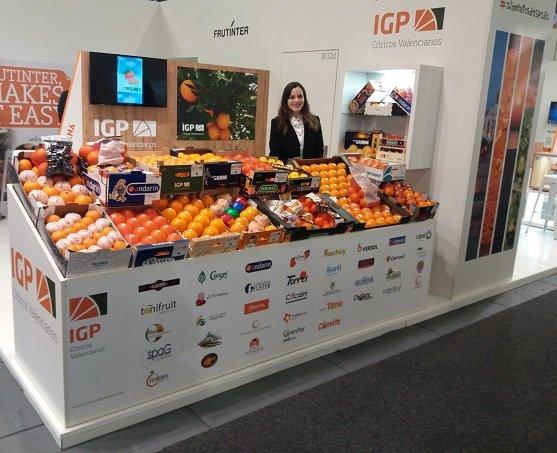 Stand IGP Citricos Valencianos Berlín 2018 fruit logistica