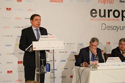 ministro agricultura planas desyuno informativo europapress