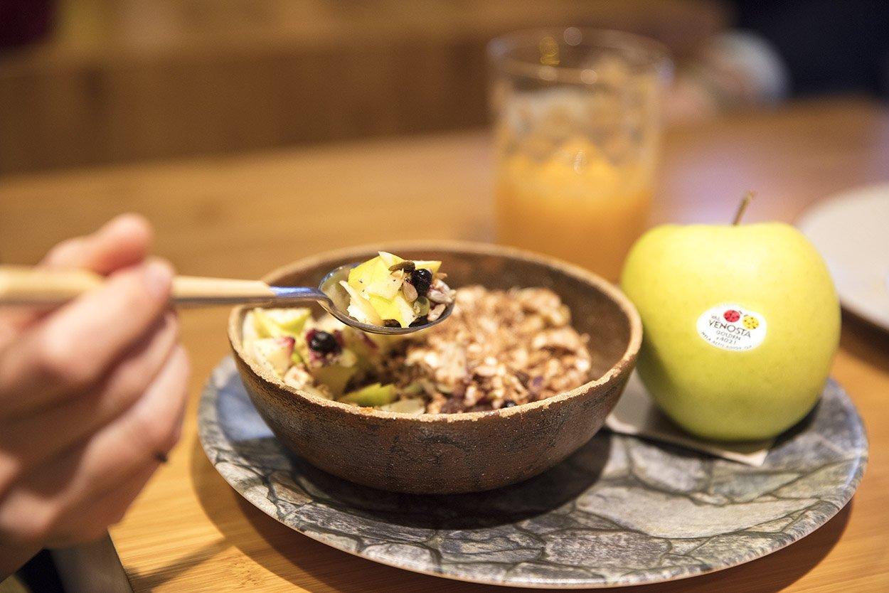 val venosta manzana bol mindful eating