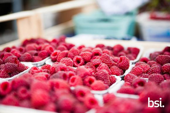 raspberries frambuesas
