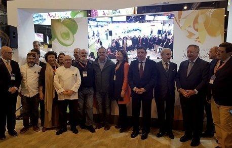 Presentacion Andalucía Sabor en salón gourmets madrid
