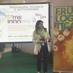 FRUIT LOGISTICA EN FAME INNOWA Silvia de Juanes