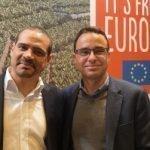 Karim Bagoee y Sergio Cáceres