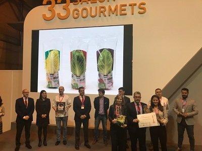 rijk zwaan recibe premio salon gourmets por lechuga snack
