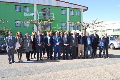 ministro LUIS PLANAs visita grupo an