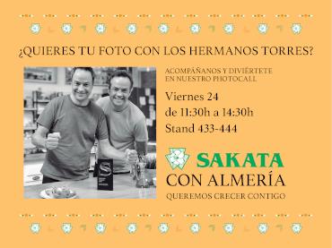 Sakata crece con Almería en InfoAgro