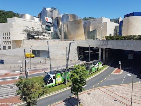 WAO Tranvía guggenheim Bilbao