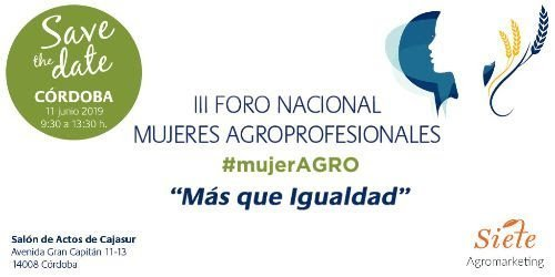 foro mujeres agro 2019