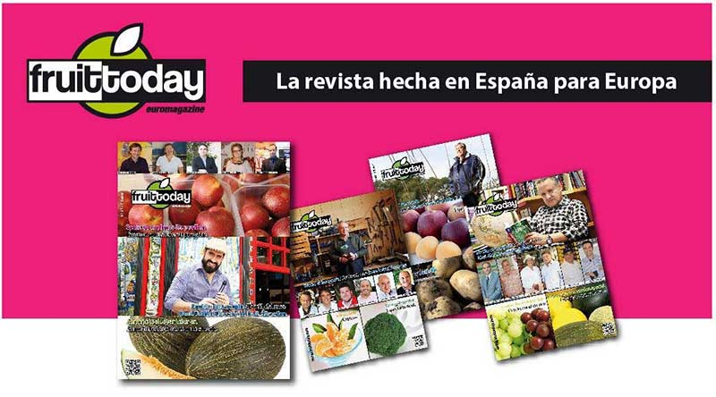 Fruit Today Euromagazine. La revista hecha en España para Europa