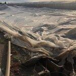 temporal almeria invernadero derribado