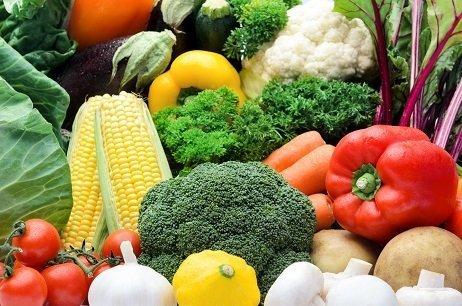 hortalizas frutas