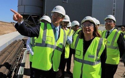 Visita planta biomasa Ence Huelva