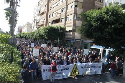 ASAJA 19 NOV ALMERIA manifestación