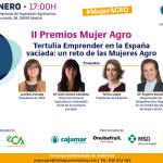 cartel premios mujer agro 2020