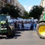 protesta tractores
