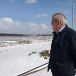 visita presidente asaja pascual soler a nijar granizo