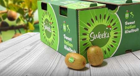 origine group kiwi Sweeki packaging