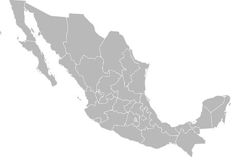 Mexico_Mapa