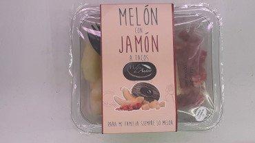 melon de autor con jamón