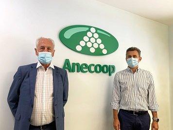 Paco Borao y Alejandro Monzón anecoop patrocina maraton valencia