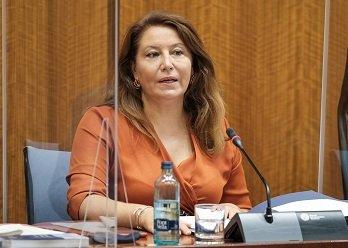 carmen crespo consejera agricultura andalucia_Parlamento comisión 3