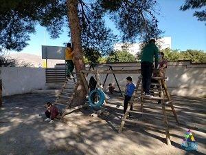 AGROPONIENTE. Colaboración con Campamento Inclusivo Navidad Altea Autismo