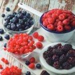 frutos rojos en Carrefour